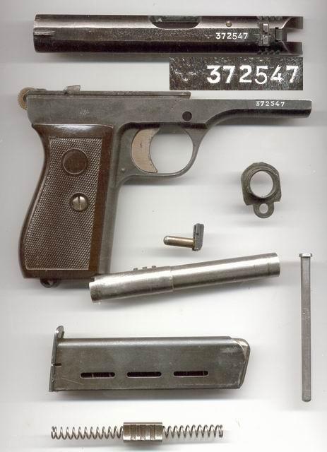 pistol cz 27 b