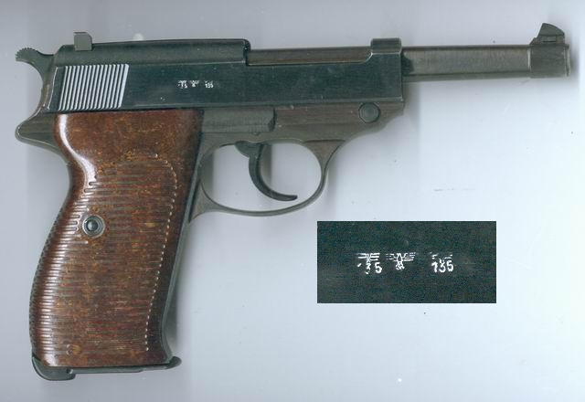 Stempel Walther pistols of the german wehrmacht